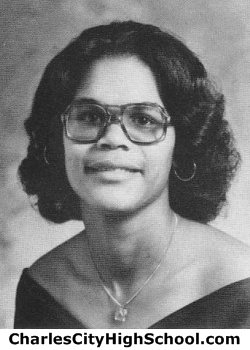 Donna Craddock yearbook picture