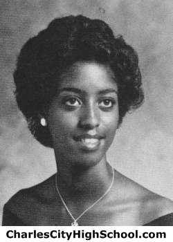 Martha Dobson yearbook picture