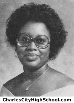 Rita Johnson yearbook picture