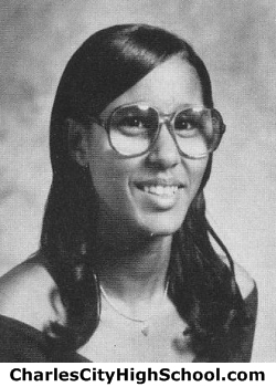Robin Johnson yearbook picture