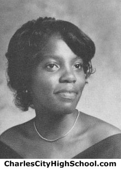 Sharon Jones yearbook picture