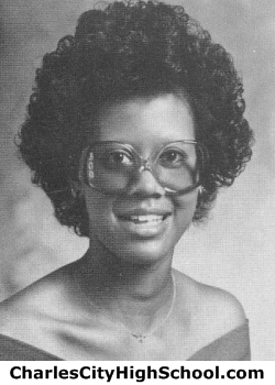 Felecia Logan yearbook picture