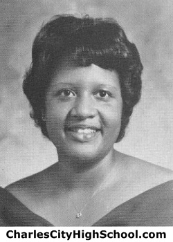 Donna Miles yearbook picture