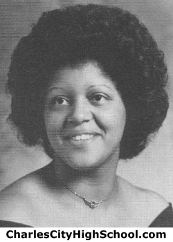 Marilyn Miles yearbook picture