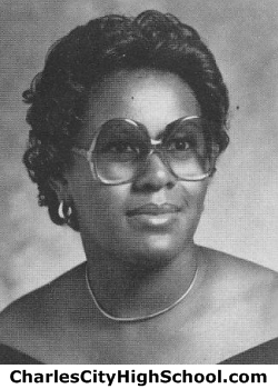 Cynthia Paige yearbook picture