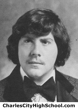 David Rudisill yearbook picture