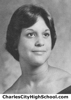 Glenda Stewart yearbook picture