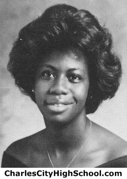 Lucille Turpin yearbook picture