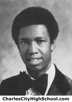 Lorenzo Washington yearbook picture