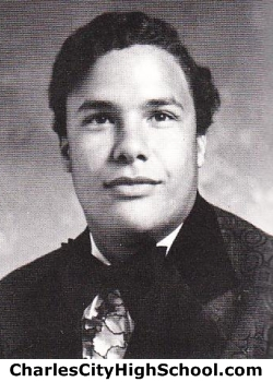 Harlan Adkins yearbook picture