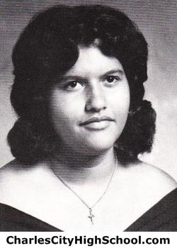 Melinda Adkins yearbook picture