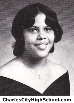 Melva Adkins yearbook picture