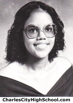 Norma Adkins yearbook picture