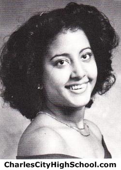 Zarah Adkins yearbook picture
