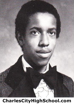 Carl Allen yearbook picture