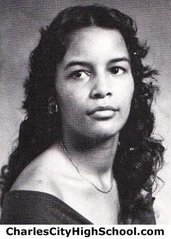 Clydette Allen yearbook picture