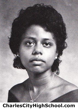 Phyllis Banks yearbook picture