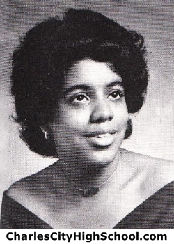 Kathrine Bell yearbook picture