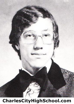 Mitchell Berry yearbook picture