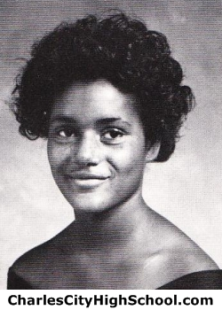 Peggy Black yearbook picture