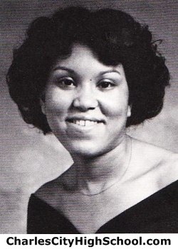 Rowena Bowman yearbook picture
