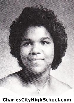 Valerie Badby yearbook picture
