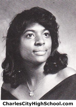 Arlene Brown yearbook picture