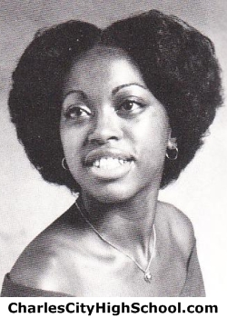 Louise Brown yearbook picture
