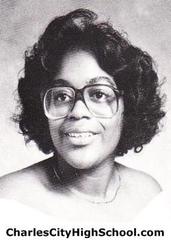 Selma Brown yearbook picture