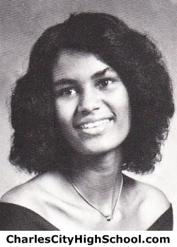 Wilheminia Brown yearbook picture