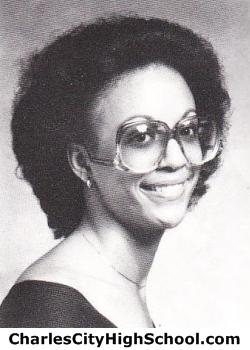Deborah Burrel yearbook picture