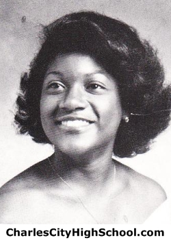 Shelly Calender yearbook picture