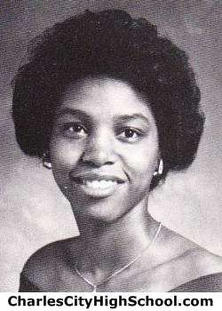 Crystal Charity yearbook picture