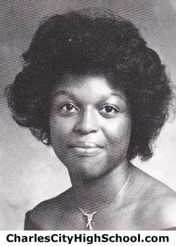 Felicia Christian yearbook picture