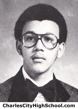 Toney Craddock yearbook picture