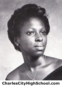 Lesia Dobson yearbook picture