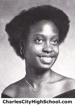 Theresa Fitzgerald yearbook picture