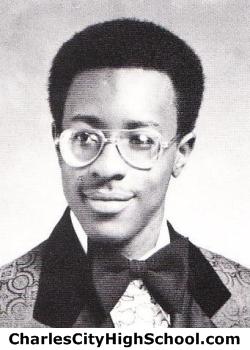 Garrett Johnson yearbook picture