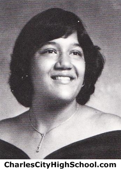 Sylvia Johnson yearbook picture