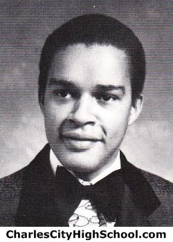 Bernard Miles yearbook picture