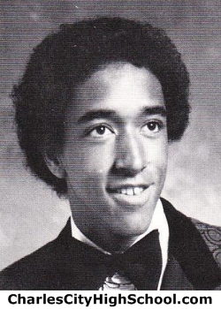Curtis Miles yearbook picture