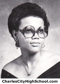 Shelia Miles yearbook picture