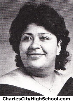 Stephanie Miles yearbook picture