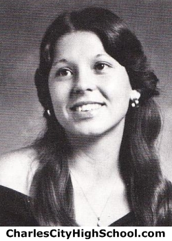 Theresa Paraham yearbook picture