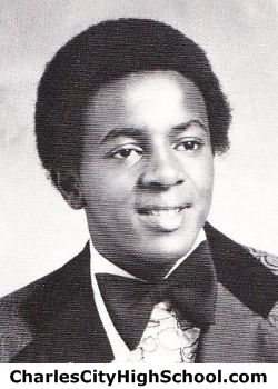 Russel Smith yearbook picture