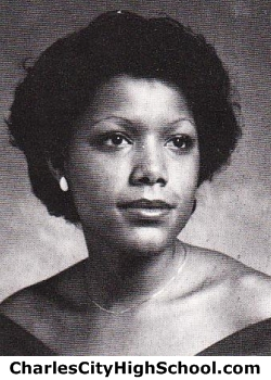 Delphine Tabb yearbook picture