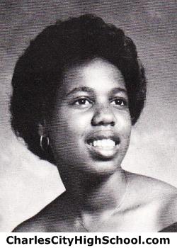 Rita Turpin yearbook picture