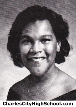 Lottie Wallace yearbook picture