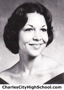 Tina Whitehead yearbook picture