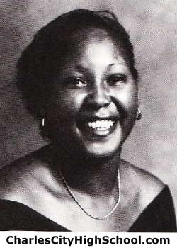 Joyce Cox yearbook picture